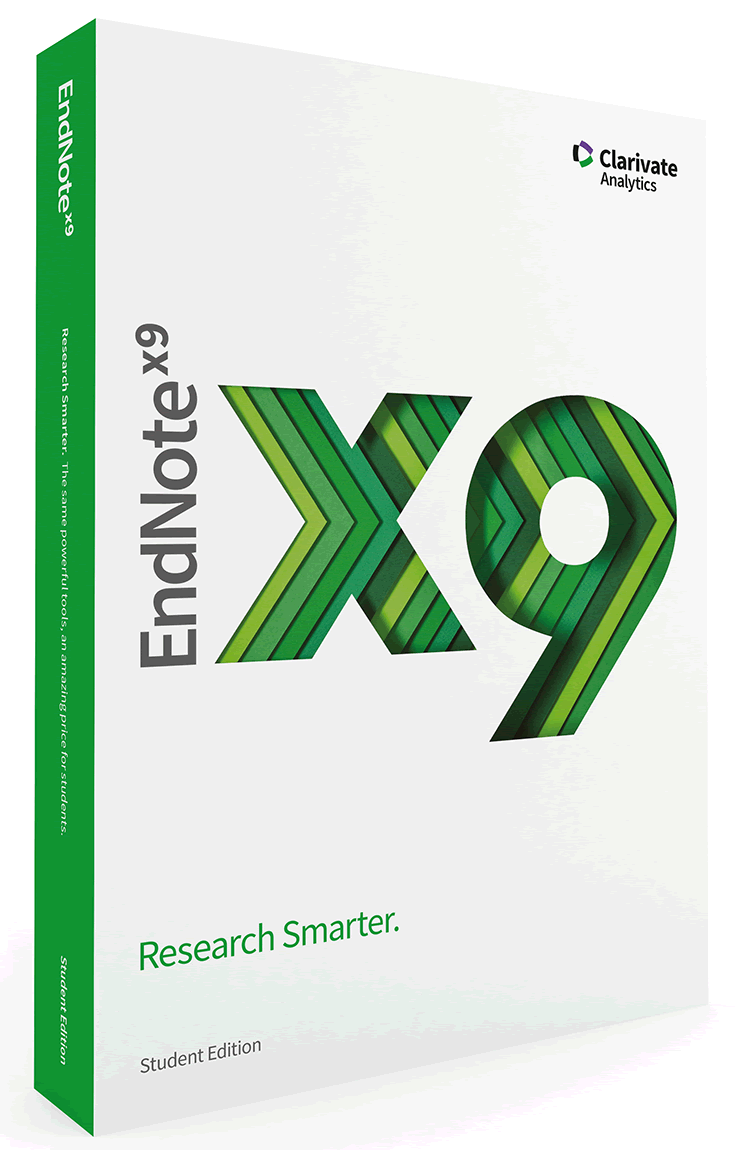 EndNote X9 Student